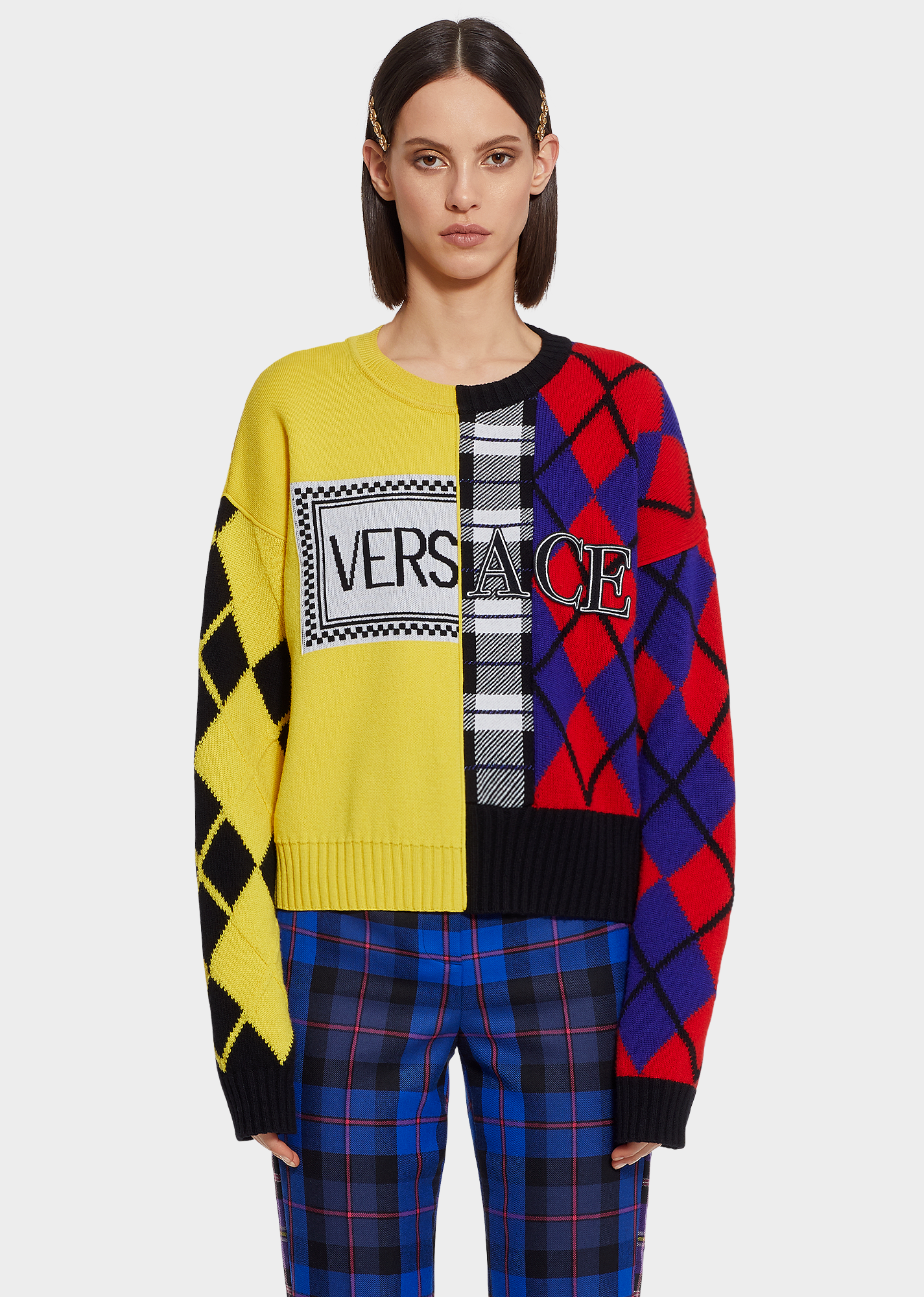 Mixing Prints - Inspiration - Versace 2018 Fall/Winter Collection